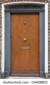 In the 18th century Hanoverian period, streets in Dublin were redesigned. Houses looked all very similar, so the doors were painted in different colors & given ornaments for their windows.