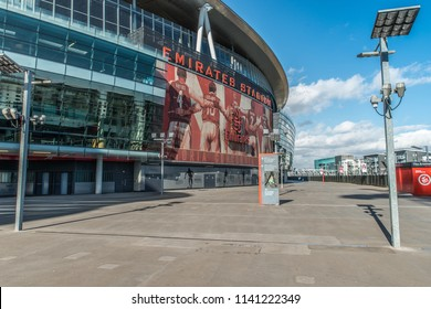 18th - March - 2015 - Emirates Stadium, London - Images of Arsenals Emirates Stadium in North London