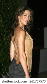 19 August 2004 - Hollywood, California - Samantha Harris. Pelle Pelle's Celebrity Catwalk for charity hosted by Nicole Richie at the Palladium in Hollywood.