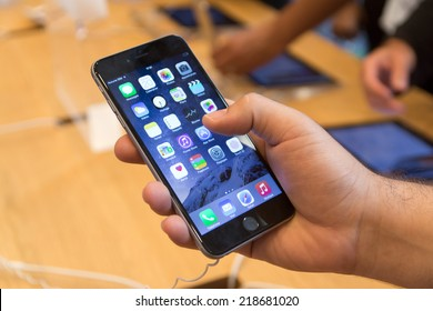 19 September 2014-Strasbourg, France: With a special event on September 9 by Apple introduced iPhone 6, has received four million pre-orders.