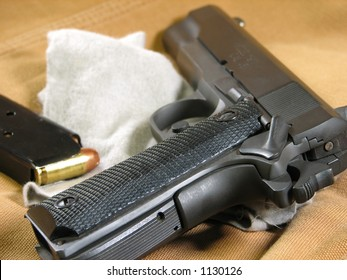 Handgun Cleaning Images, Stock Photos & Vectors | Shutterstock