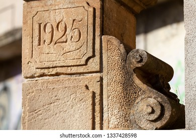 1925 fence rock