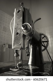 1930 circa vintage sewing machine