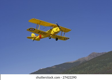 A 1938 Tiger Moth Airplane