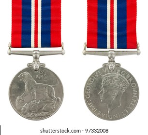1939-1945 Second World War Medal General Service Medal with the inscription GEORGIVS VI D G BR OMN REX ET INDIAE IMP