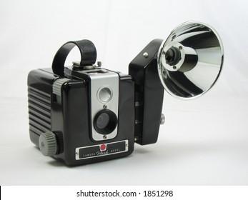 1950s era deco box camera