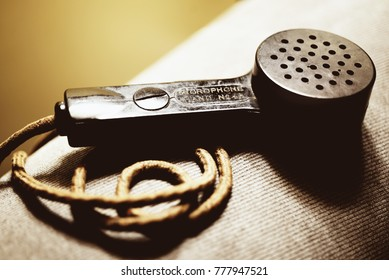 1950's Vintage Hand Held Microphone for Short Wave Radio or transceiver