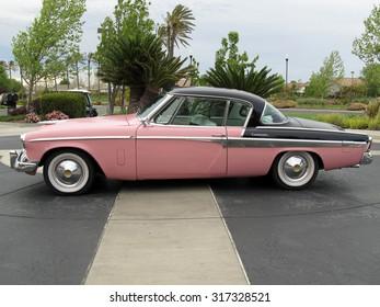 1955 Studebaker Commander Rio Vista, CA   April 17, 2011 Classic car on display at Trilogy Retirement Community.