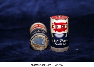 1956 Bright Star batteries for a camera flash