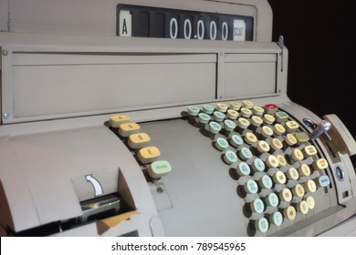 1960s cash register