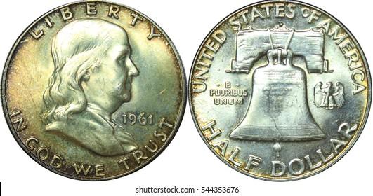 1961 Franklin Half Dollar