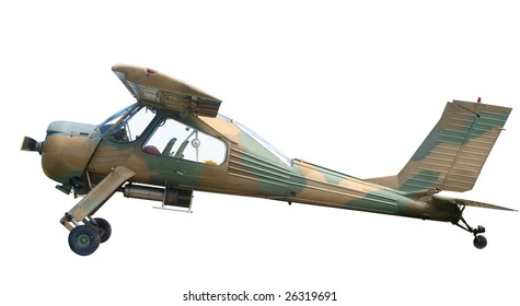 1980 Wilga Model 35 isolated with clipping path