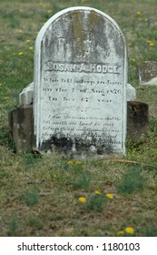 19th Century Tombstone