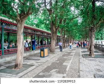 19th of May, 2018: Long Corridors, Summer Palace, Beijing, China
