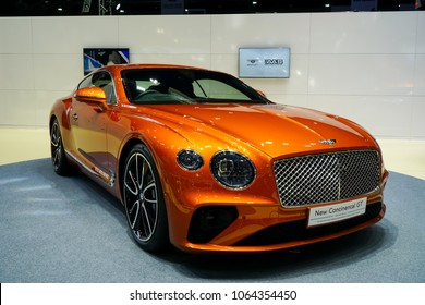 1/April/2018 Bentley continental GT Showroom Bangkok International motor show at Nonthaburi ,Thailand