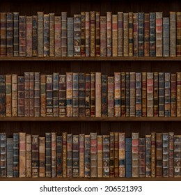 1of15 Old books seamless texture (vertically and horizontally). Bookshelf Background. Also tiled with other 15 textures from same pack in my gallery.
