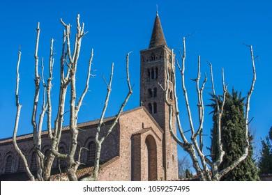 1st April 2018. Ravenna. Italy. The church of Saint John the Evangelist.