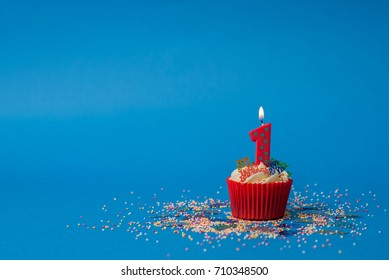 1st birthday candle
