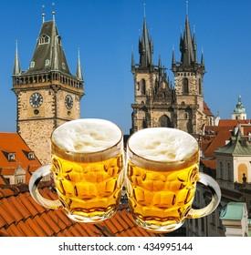 2 Cap Czech Beer / Prague