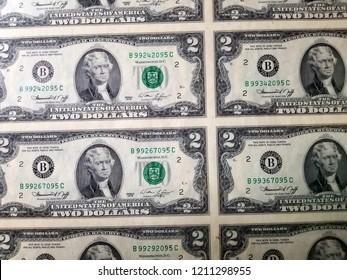 $2 Dollar Bills