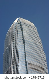 2 IFC tower - At 420m high and 88 storeys is a dominant building of Hong Kong's skyline.