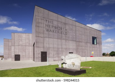 2 June 2011: Wakefield, West Yorkshire, England - The Hepworth Wakefield was opened on 21 May 2011. It is named for the sculptor Barbara Hepworth who was born and educated in the city'