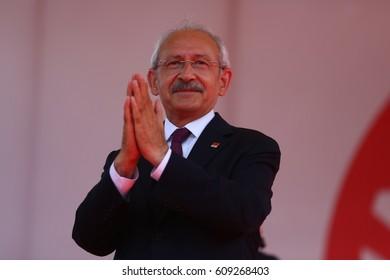 2 June 2015. Istanbul, Turkey. Kemal Kilicdaroglu is a Turkish csocial democrat politician. He is leader of the CHP.