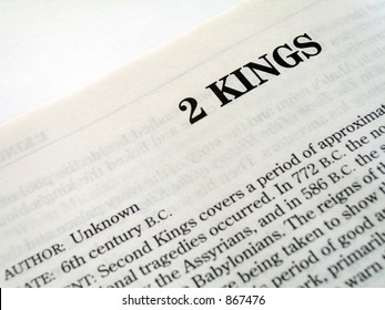 2 Kings Book Of The Bible