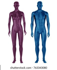 2 Mannequins /Male /Female