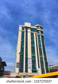 2 March 2019, Lagos Nigeria: Tall buildings in Marina Lagos Nigeria.