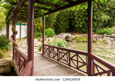 2 November 2012: Hamilton, New Zealand - Hamilton Gardens, Waikato,  the Chinese Scholar's Garden.
