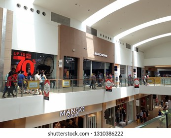 2 September 2018, Sepang Malaysia ; Skechers and Mango Outlet in a mall.