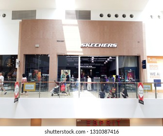2 September 2018, Sepang Malaysia ; Skechers Outlet in a mall.