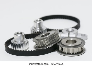 2 type of timing belt and timing pulley
