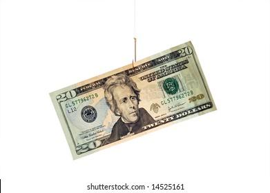 20 Dollars on Hook