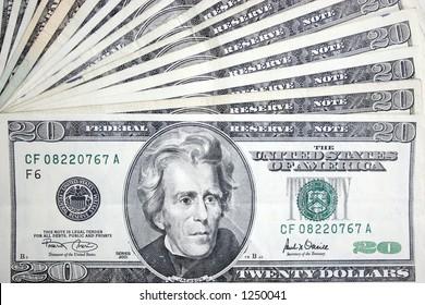 20 dollars,Jackson