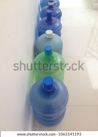 20 litre plastic bottel collect clean stock photo edit now