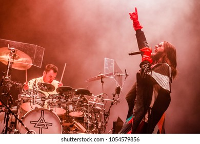 20 MARCH 2018, Ziggo Dome, Amsterdam: Concert of Thirty Seconds To Mars