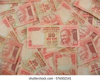 Imágenes, fotos de stock y vectores sobre 20 Rupee Note