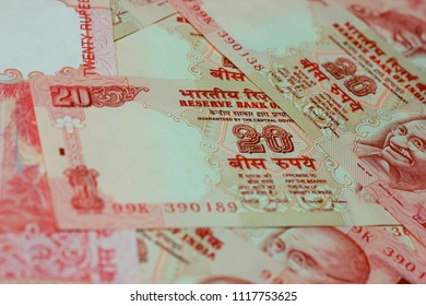 20 rupees Indian currency