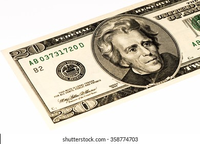 20 US dollars bank note made in 2006