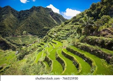 2000-year old Batad Rice Terraces, UNESCO Heritage, Central Luzon on Philipines, Southeast Asia