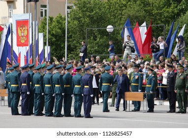 9533e435aac0e Graduation of military school cadets.
