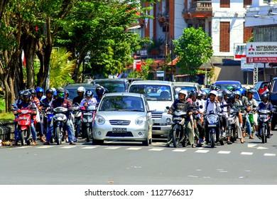 2009.10.10, Ubud, Bali. Ethnic people of Indonesia. Travel around Bali.