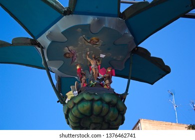 """2010-Torrent.Valencia.Spain. Traditional artichoke aka """"cartxofa"""" on the day of the resurrection in the town of Torrent to end Easter and start Easter"""