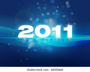 2011 New Year greeting | background image to send to your friends or clients. Place for your text in white on the bottom