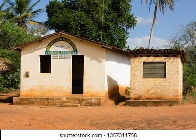 2012.10.28. Architecture. Popular culture. Rural headquarters of Maracatu Cambinda Brasileira, maracatu de baque solto, located at Engenho Cumbe in Nazaré da Mata, Pernambuco, Brazil.