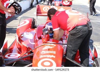 2013 Honda Indy in Toronto, June 14th, 2013, with Scott Dixon.