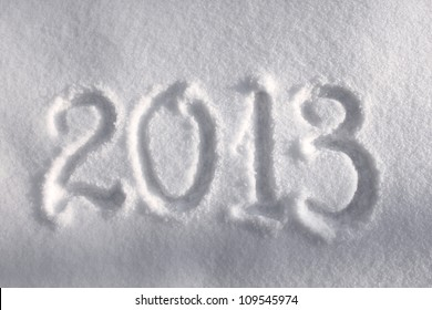 2013 in the snow