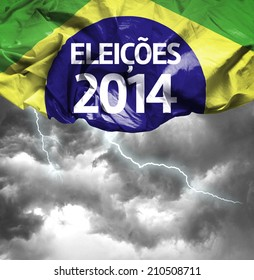 2014 Election in Brazil (Portuguese: Eleicoes 2014) on a bad day